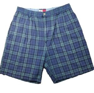 TOMMY HILFIGER Plaid Shorts